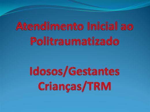 Curso Online de Atendimento Inicial ao Politraumatizado 2012