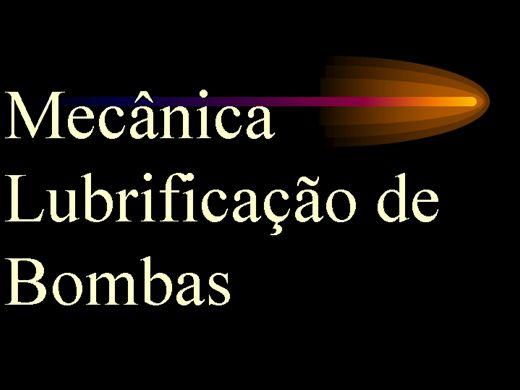 Curso Online de Mecânica Lubrificação de Bombas
