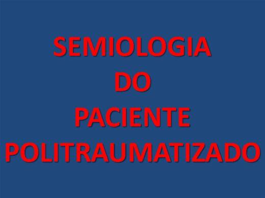 Curso Online de SEMIOLOGIA DO PACIENTE POLITRAUMATIZADO