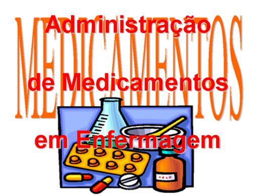 Curso Online de Administração de Medicamentos em Enfermagem