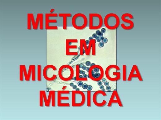 Curso Online de MÉTODOS EM MICOLOGIA MÉDICA