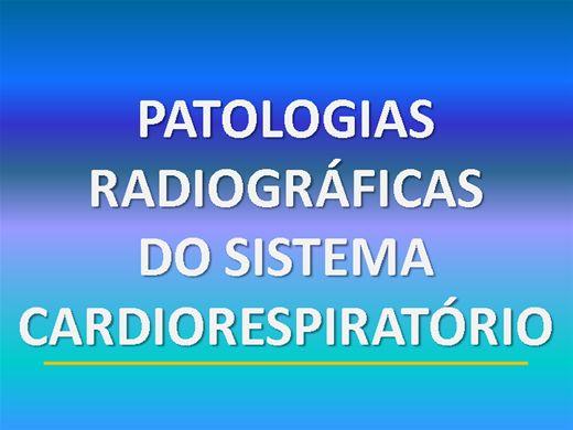 Curso Online de PATOLOGIAS RADIOGRÁFICAS DO SISTEMA CARDIORESPIRATÓRIO