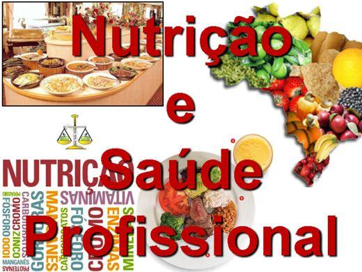 Curso Online de Nutrição e Saúde Profissional