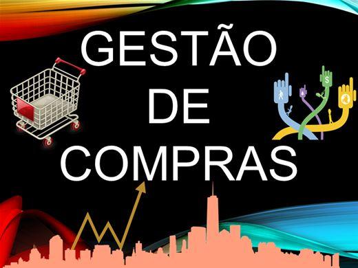 Curso Online de GESTÃO DE COMPRAS