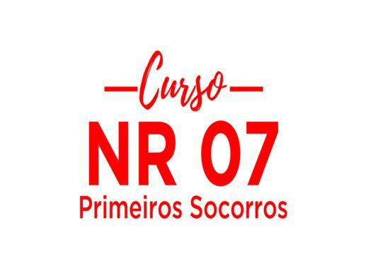 Curso Online de NR-07 - PRIMEIROS SOCORROS
