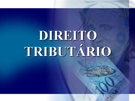 Curso Online de Direito Tributario
