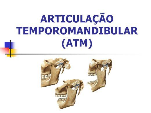 Curso Online de ATM - Articulação Temporomandibular