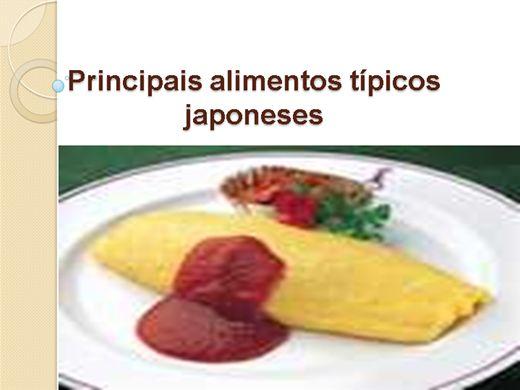 Curso Online de  Principais alimentos típicos japoneses