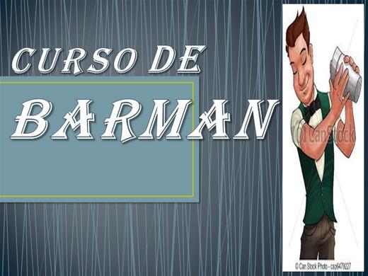 Curso Online de CURSO DE BARMAN