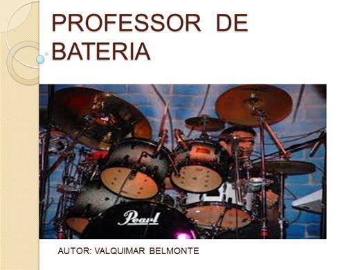 Curso Online de Professor de Bateria