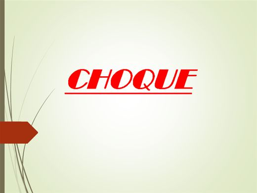 Curso Online de Choque