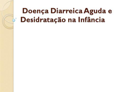 Curso Online de Doenças diarreicas e desidratação infantil