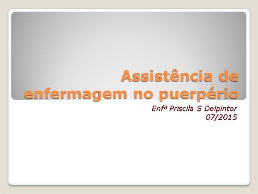 Curso Online de Assistência de enfermagem no puerpério