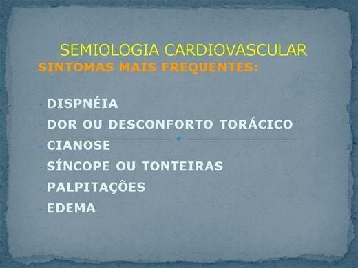 Curso Online de Semiologia Cardiovascular