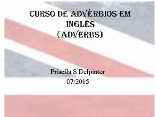 Curso Online de Advérbios em inglês