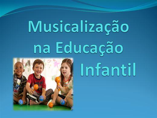 Curso Online de Musicalização na Educação Infantil