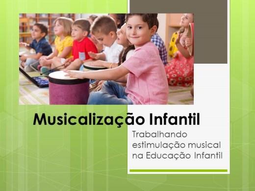 Curso Online de Musicalização Infantil: Trabalhando estimulação musical na Educação Infantil