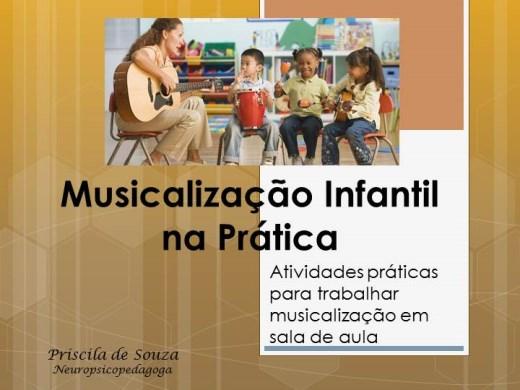 Curso Online de Musicalização Infantil na Prática: atividades práticas para trabalhar musicalização em sala de aula