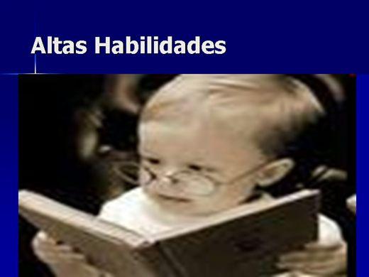 Curso Online de Altas Habilidades X Deficiência Intelectual - como atender em Sala de Recursos?A depressão infantil e Síndromes Infantis diversas.