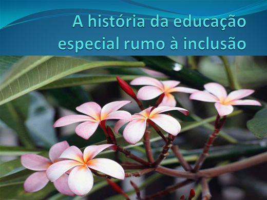 Curso Online de A história da educação especial rumo à inclusão