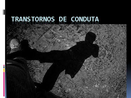 Curso Online de TRANSTORNOS DE CONDUTA