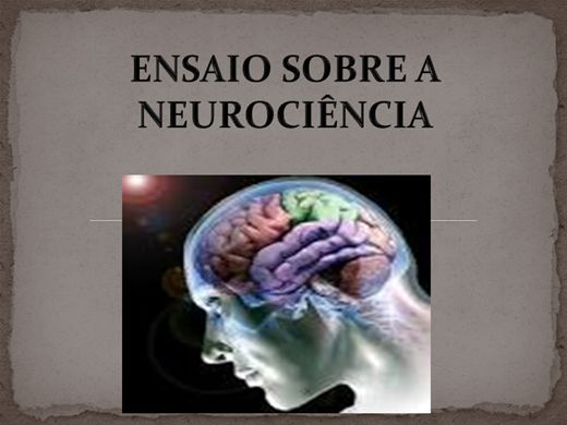 Curso Online de ENSAIO SOBRE A NEUROCIÊNCIA
