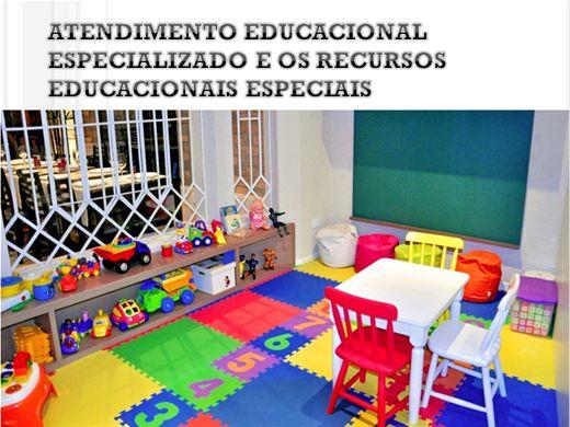 Curso Online de Atendimento Educacional Especializado e os Recursos Educacionais Especiais
