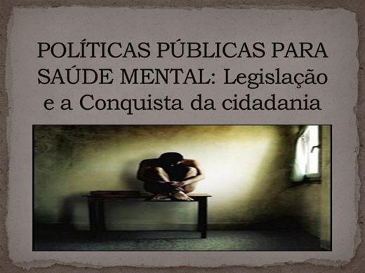 Curso Online de POLÍTICAS PÚBLICAS PARA SAÚDE MENTAL: Legislação e a Conquista da cidadania