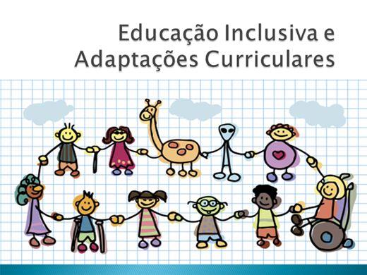 Curso Online de Educação Inclusiva e Adaptações Curriculares