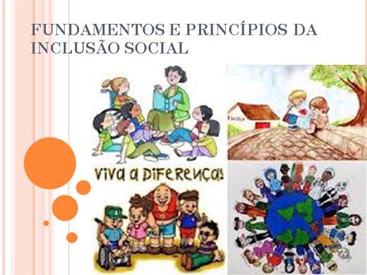 Curso Online de FUNDAMENTOS E PRINCÍPIOS DA INCLUSÃO SOCIAL