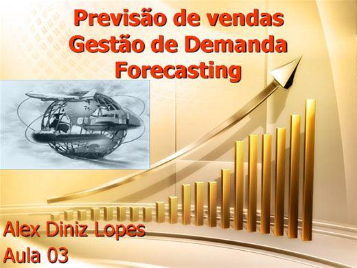 Curso Online de Previsão de Vendas -Forecasting- Módulo III