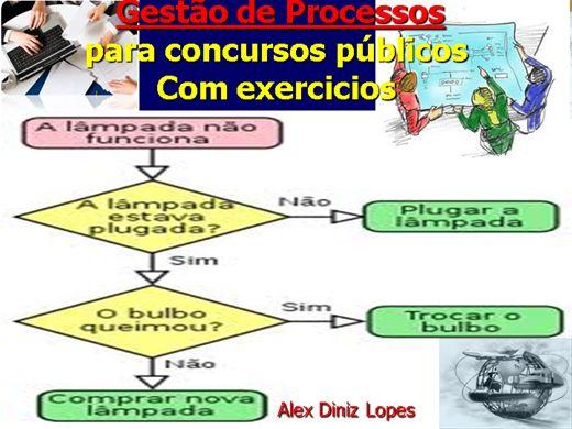 Curso Online de Gestão de Processos e Qualidade-para concursos-Com exercicios