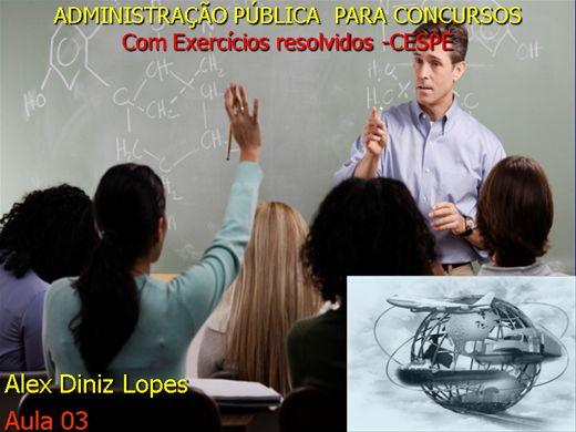 Curso Online de Estrutura Organizacional-Administração Pública para CONCURSOS-Com exercícios resolvidos