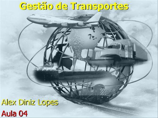 Curso Online de Gestão de Transportes -Módulo IV