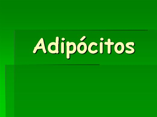 Curso Online de ADIPOCITOS