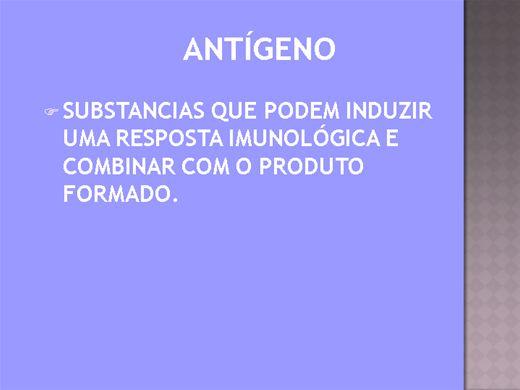 Curso Online de ANTIGENO