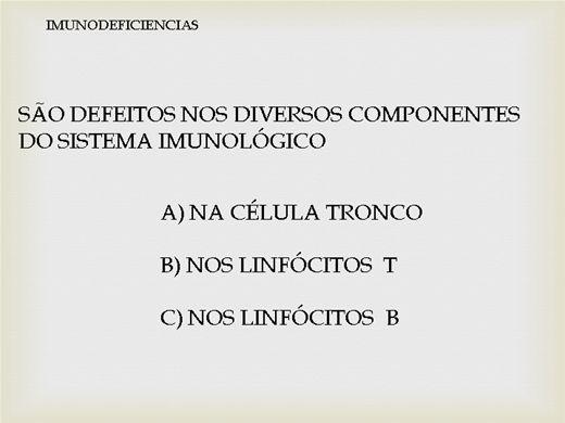 Curso Online de imunodeficiencias primarias