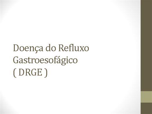 Curso Online de REFLUXO GASTROESOFAGICO