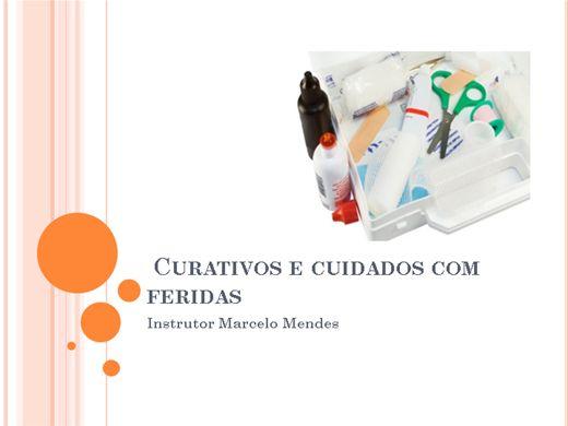 Curso Online de Cursos de curativos e cuidados com feridas