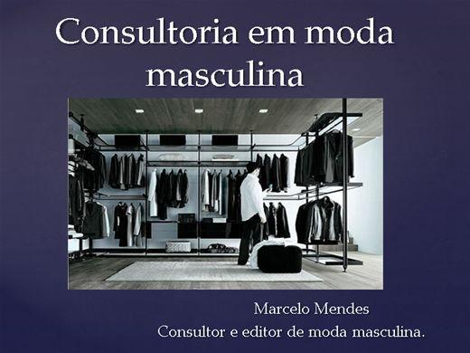 Curso Online de Consultoria de moda masculina