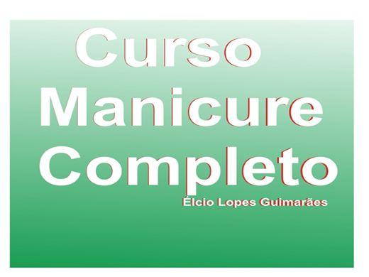 Curso Online de MANICURE E PEDICURE - PASSO A PASSO