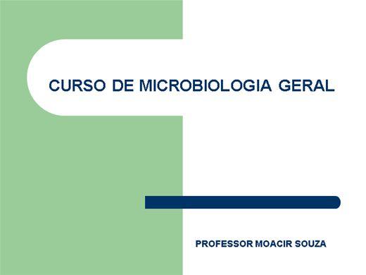 Curso Online de MICROBIOLOGIA GERAL