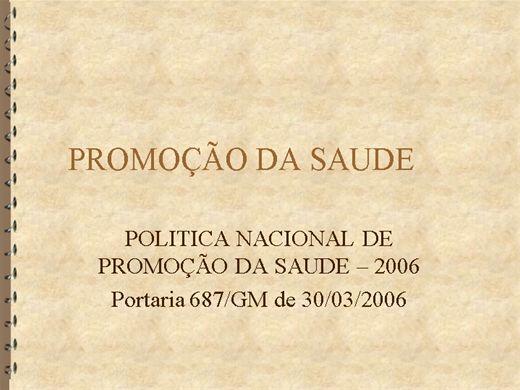 Curso Online de PREVENÇÃO E PROMOÇÃO À SAÚDE