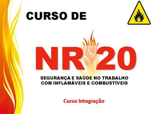 Curso Online de Curso Integração da NR20