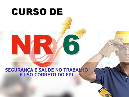 Curso Online de SEGURANÇA E SAÚDE NO TRABALHO E USO CORRETO DO EPI - NR6