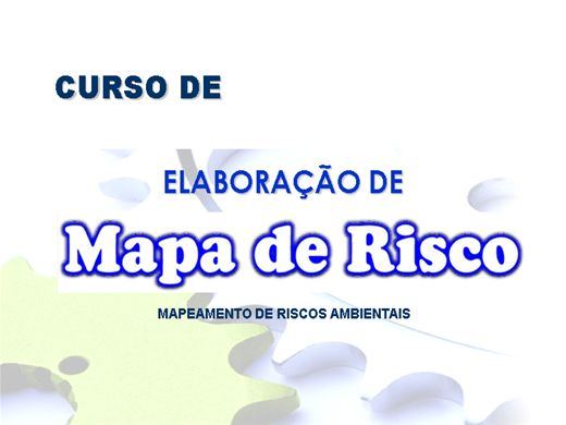 Curso Online de Elaboração de Mapa de Risco