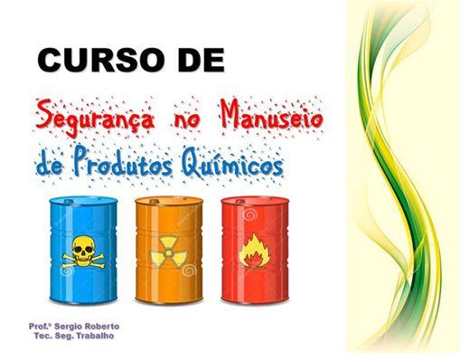 Curso Online de Segurança no Manuseio de Produtos Químicos