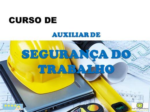 Curso Online de Auxiliar de Depto. de Segurança do Trabalho