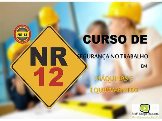 Curso Online de NR12 - Segurança no Trabalho em Máquinas e Equipamentos