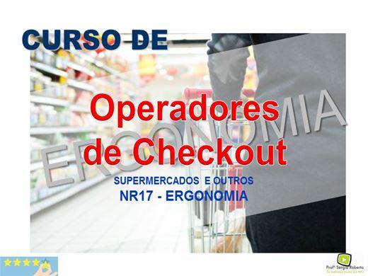 Curso Online de Operadores de Checkout - NR17 - Ergonomia